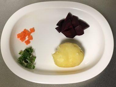 かわいい系ポテトサラダ作りました\(^o^)/ ビションフリーゼ おもち  16751E6A-5997-4049-B159-527787D1BFAB-380x285