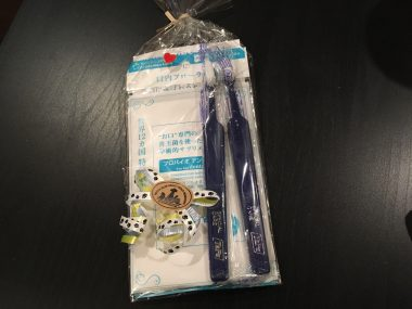 凄く良い歯ブラシとお粉を頂きました✨ ビションフリーゼ おもち  73488CC5-1CDA-4459-905E-4D5668615D4D-380x285